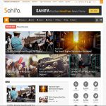 Wordpress Magazine Template - Sahifa is very versatile website template. Offers many great features, to enhance your web site. Theme manages to balance power and beauty, resulting in a high-quality browsing experience for all users.