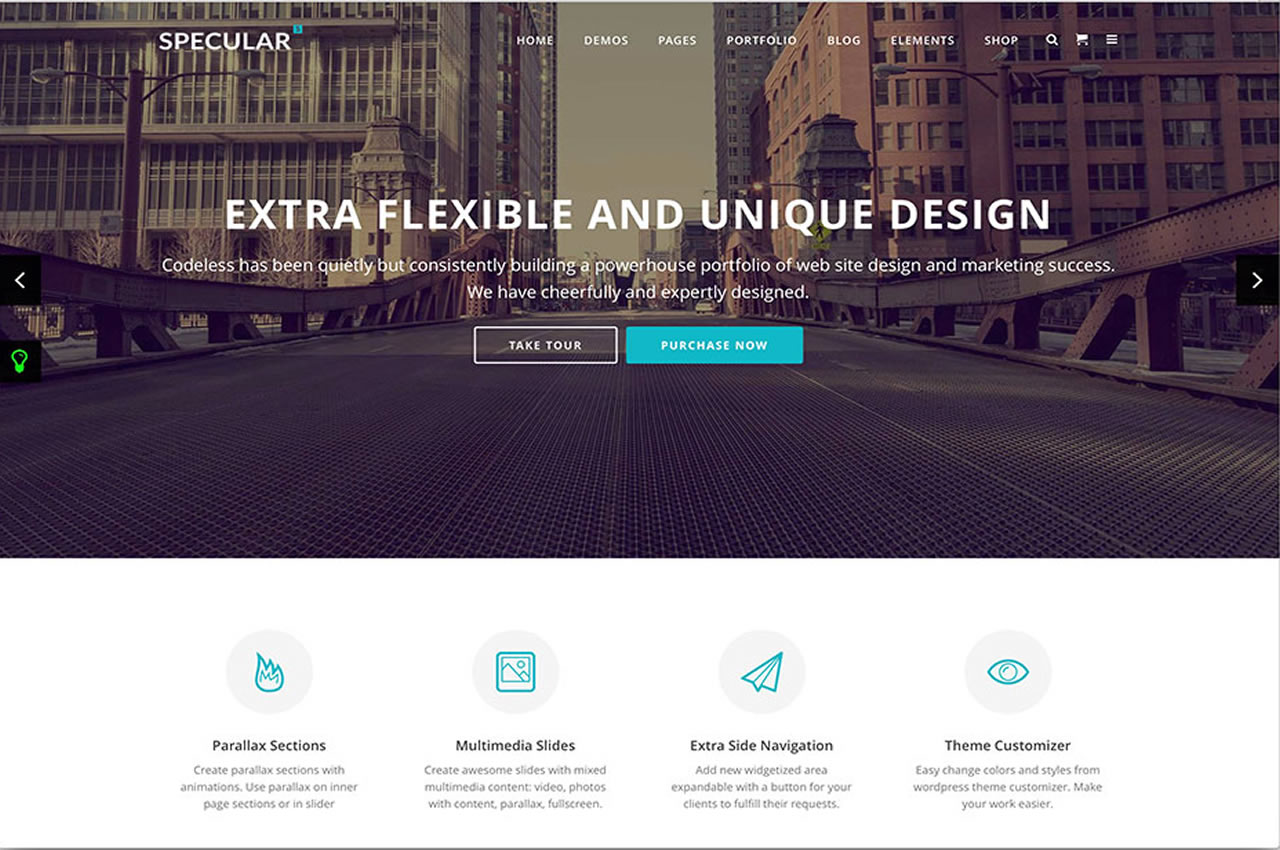 Responsive Business Theme Spectacular