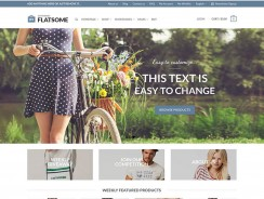 Flatsome -Clean WordPress Theme