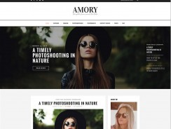Blog Theme for WordPress – Amory
