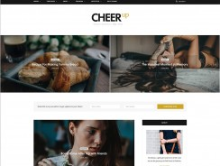 WordPress Blog Template CheerUp
