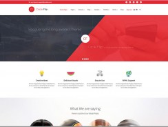 Corporate Business WordPress Theme – Circle Flip