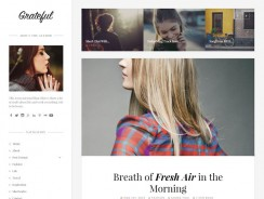 WordPress Fashion Theme – Grateful