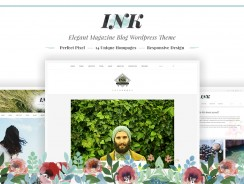 Blog WordPress Theme – Ink