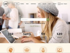 LMS – Learning Management System, Education LMS WordPress Theme