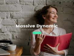 Massive Dynamic – Business WordPress Theme