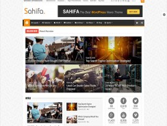 WordPress Magazine Template – Sahifa